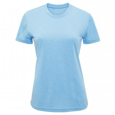 Women's TriDri� Performance T-shirt In Turquoise Melange