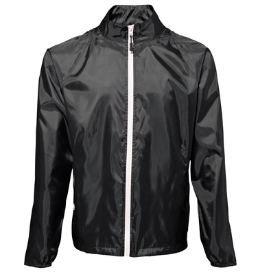 Contrast Lightweight Jacket In Black/ White