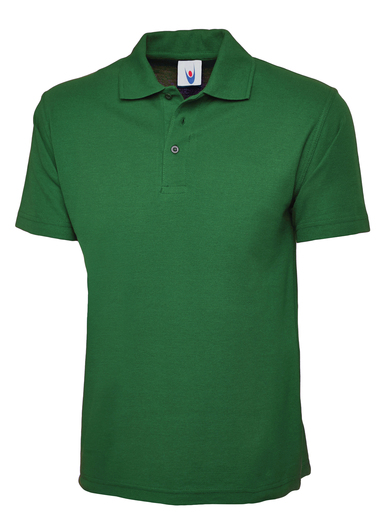 Classic Polo Shirt  In Kelly Green
