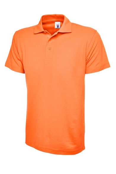 Classic Polo Shirt  In Orange