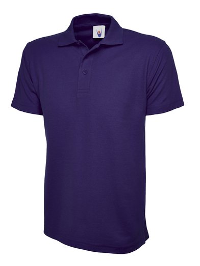 Classic Polo Shirt  In Purple