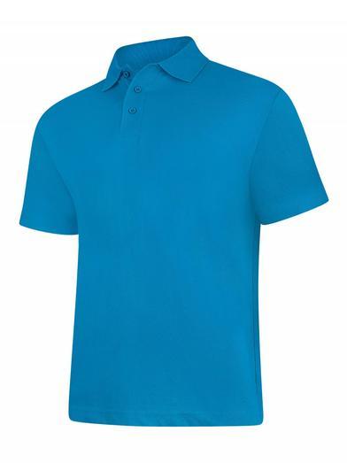 Classic Polo Shirt  In Sapphire Blue*