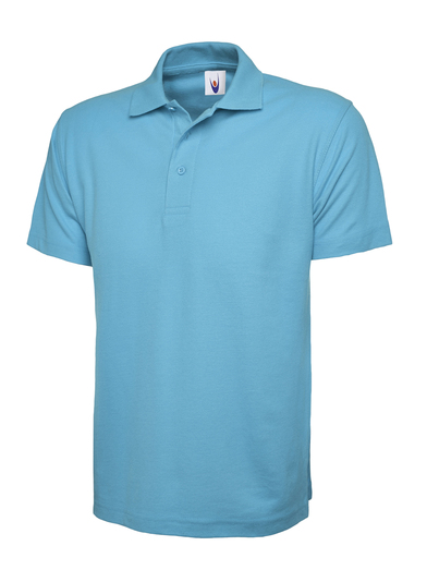 Classic Polo Shirt  In Sky