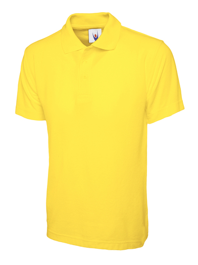 Classic Polo Shirt  In Yellow