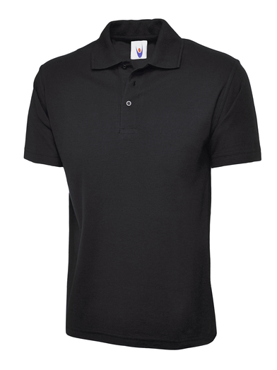 Childrens Polo Shirt  In Black