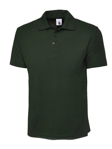 Childrens Polo Shirt  In Bottle Green