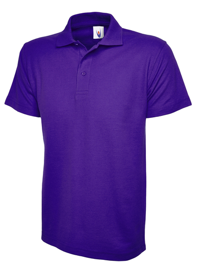 Childrens Polo Shirt  In Purple