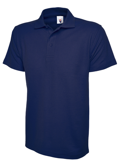 Active Polo Shirt  In French Navy