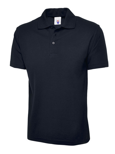Active Polo Shirt  In Navy