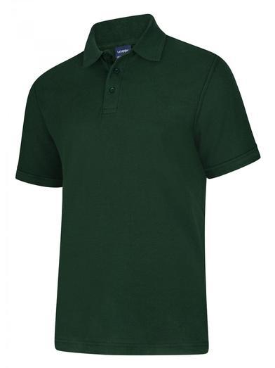 Deluxe Polo Shirt  In Bottle Green