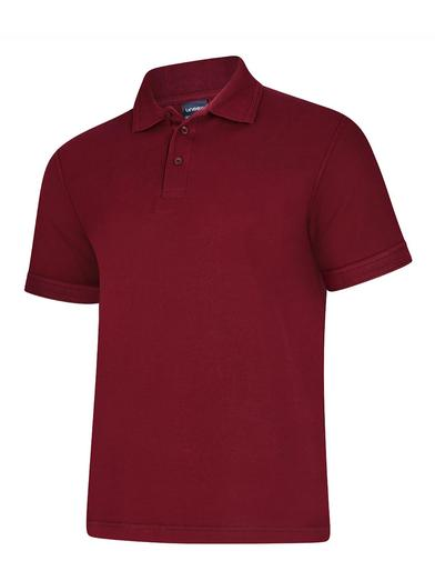 Deluxe Polo Shirt  In Maroon