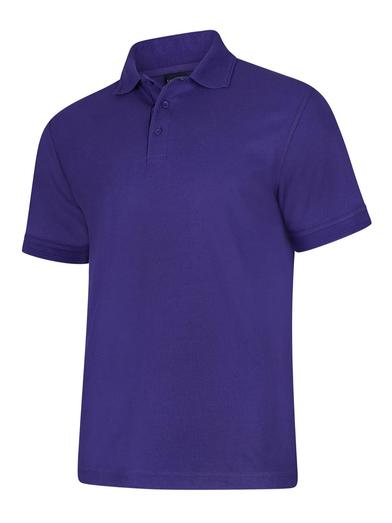 Deluxe Polo Shirt  In Purple