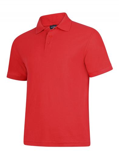 Deluxe Polo Shirt  In Red
