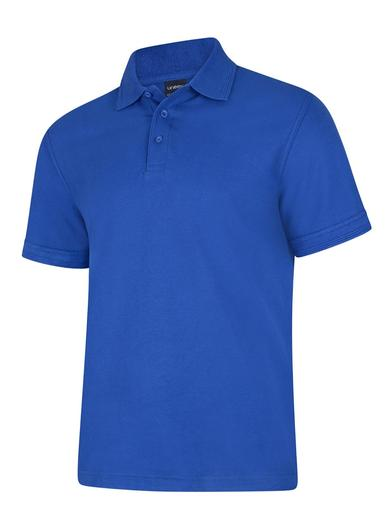 Deluxe Polo Shirt  In Royal Blue