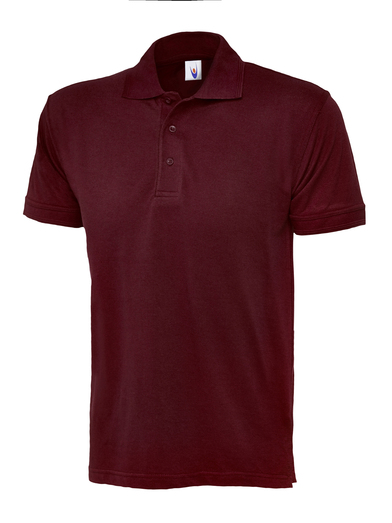 Essential Polo Shirt  In Maroon