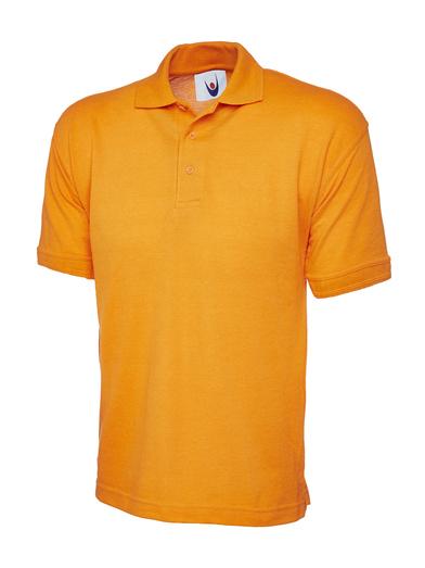 Essential Polo Shirt  In Orange