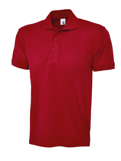 Essential Polo Shirt  In Red
