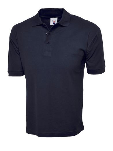 Cotton Rich Polo Shirt  In Navy