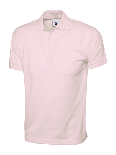 Jersey Polo Shirt  In Pink