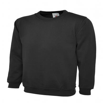 Childrens Sweatshirt  In Black