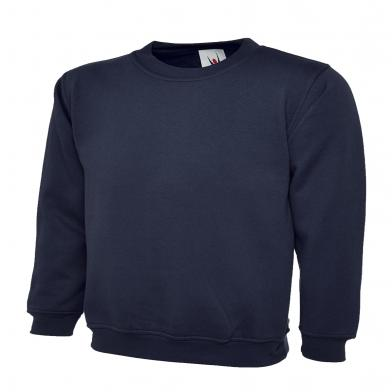 Childrens Sweatshirt  In Navy