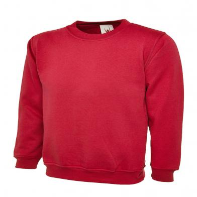 Childrens Sweatshirt  In Red