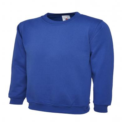 Childrens Sweatshirt  In Royal Blue