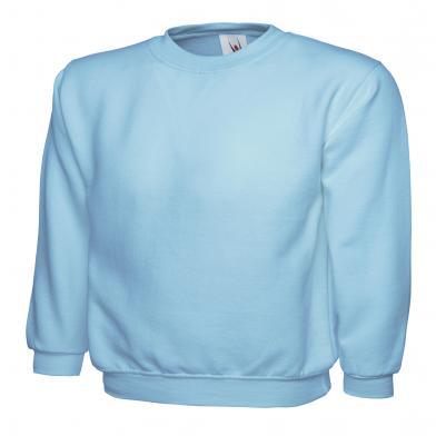 Childrens Sweatshirt  In Sky Blue