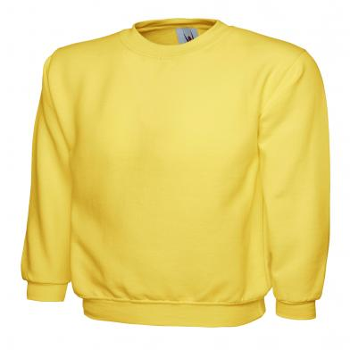 Childrens Sweatshirt  In Yellow