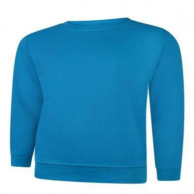 Classic Sweatshirt  In Sapphire Blue*
