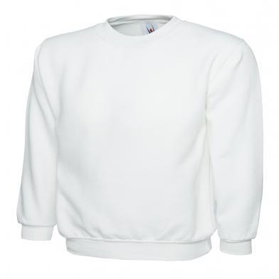 Classic Sweatshirt  In White