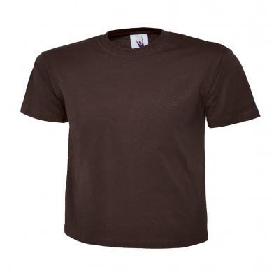 Classic T-Shirt  In Brown