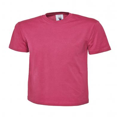 Classic T-Shirt  In Hot Pink