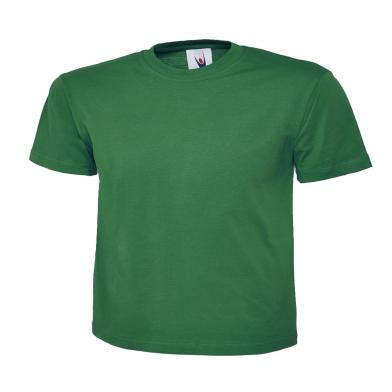 Classic T-Shirt  In Kelly Green
