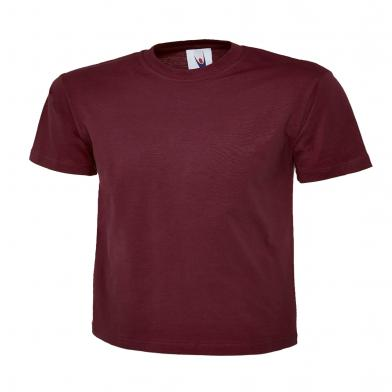 Classic T-Shirt  In Maroon