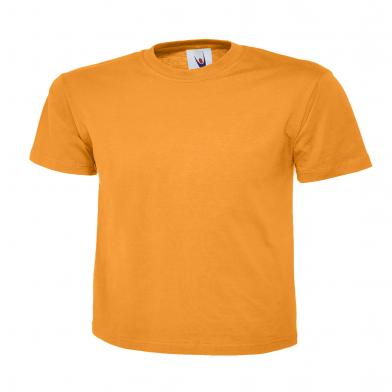Classic T-Shirt  In Orange
