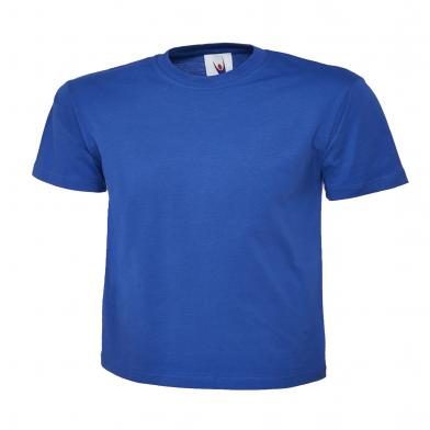Childrens Polo Shirt  In Royal Blue