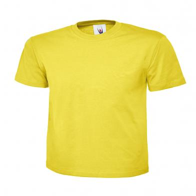 Childrens Polo Shirt  In Yellow