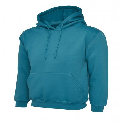 Classic Hooded Sweatshirt  In Jade