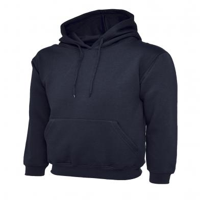 Classic Hooded Sweatshirt  In Navy