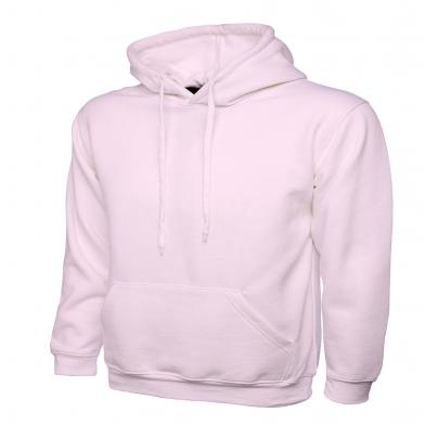 Classic Hooded Sweatshirt  In Pink