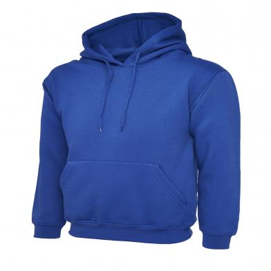 Classic Hooded Sweatshirt  In Royal Blue