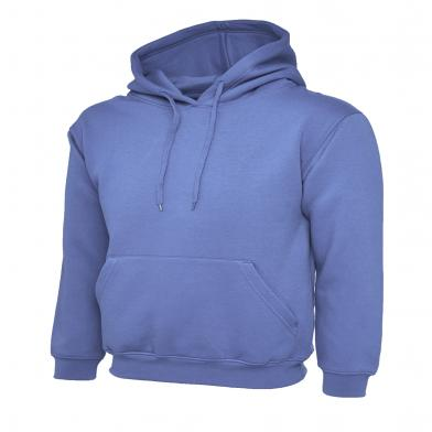 Classic Hooded Sweatshirt  In Violet