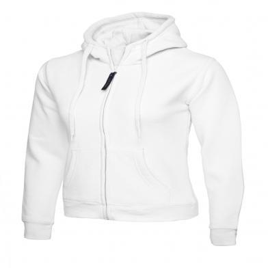 Uneek  - Ladies Classic Full Zip Hooded Sweatshirt