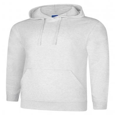 Deluxe Hooded Sweatshirt  In Ash