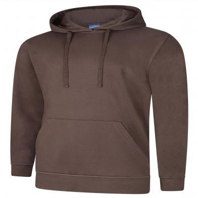 Deluxe Hooded Sweatshirt  In Brown