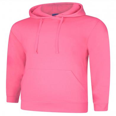 Deluxe Hooded Sweatshirt  In Candy Floss