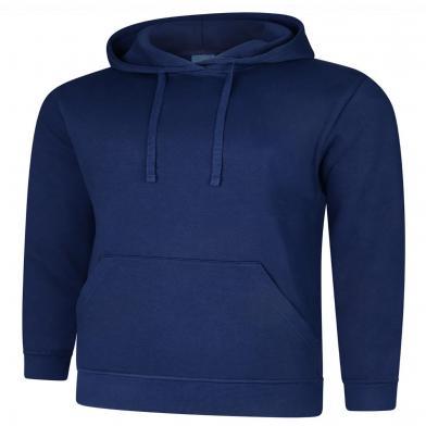 Deluxe Hooded Sweatshirt  In French Navy