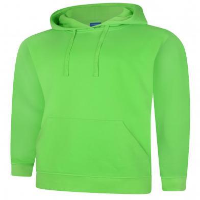 Deluxe Hooded Sweatshirt  In Lime