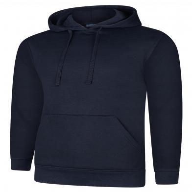 Deluxe Hooded Sweatshirt  In Navy